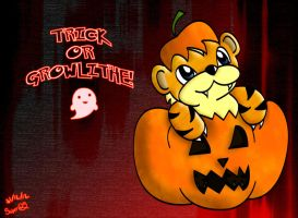 Trick or Growlithe by SniperGYS