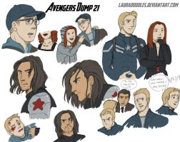 Avengers Dump 21 by LauraDoodles
