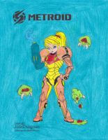 Metroid by ilovepinkhair