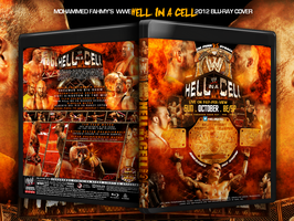 Wwe Hell In a Cell 2012 Blu-Ray Cover by THE-MFSTER-DESIGNS