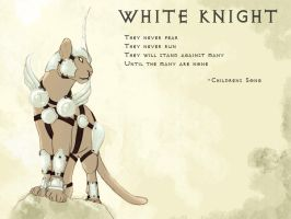White Knight by thrones