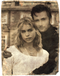 Rose Tyler / Doctor Tintype 1879 by TripTheWideSky