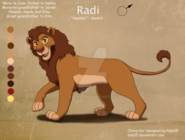 ''Radi'' - Dahlia's Father - CE by Nala15