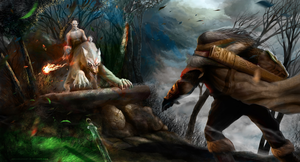 Azog Vs Dwarf by atma33