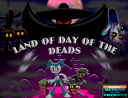 Nicktoons land Day of the Dead by mayozilla