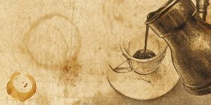 coffee background by marafet