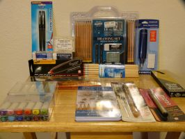 Art Supplies by Artist-Azar