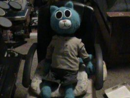 My Huge Crochet Gumball Plushie by jbyoung100