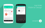 Google Play Store - Material Design [Concept] by Softboxindia