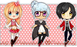 Super Cute Fashionable Adopts (Open!) by Ambercatlucky2