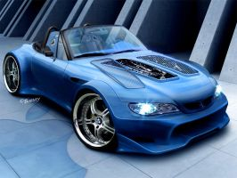 BMW Z3 wideboy by BarneyHH