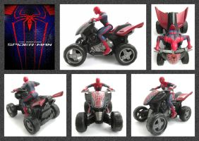 Spider-Man Quad Bike by mikedaws
