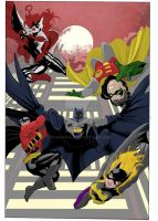 Bat Family 2011 by RadPencils