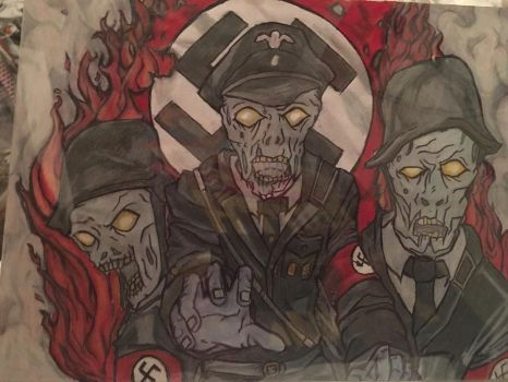 Nazi zombies by ReaTurd