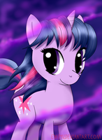 Windy Night Twilight Sparkle by Empyu