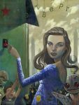 Heaven's Fury: Lauren Bacall by jasinski