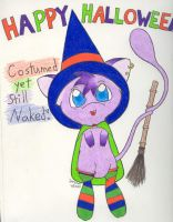 Joey Dressed up for Hallowe'en by johwee