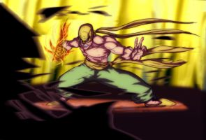 Iron Fist by andrew-henry