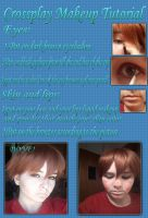 Crossplay Make Up Tutorial by Hot-cocoaX3