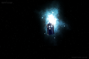 Tardis in the Cosmos by Drydareelin