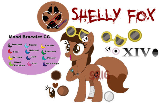 Shelly Fox new Ref-Sheet MLP by SuperRosey16