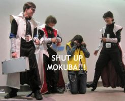 AX 2011 SHUT UP MOKUBA by broken-with-roses
