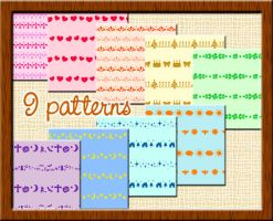 patterns-border by CocoBucciarati