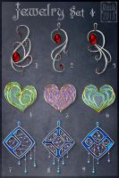 Jewelry Set 4 (CLOSED) by Rittik-Designs