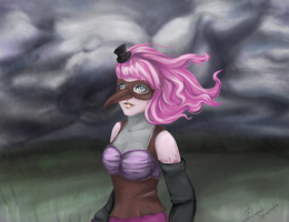 Rainy Day for Rosie by ChamomileCatastrophe