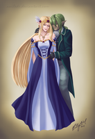 .:Commission:. Gentle Love by Anilede