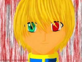 Kurapika HxH by wolfspirit5511