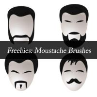 Mustache and beard brushes by emperorwarion