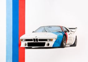 BMW M1 Procar by scrim23