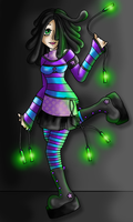Raver Girl by -black-rose-