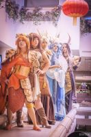 Chinese Zodiac Group by the-mirror-melts