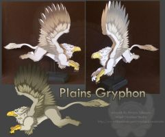 Plains Gryphon by StrayaObscura
