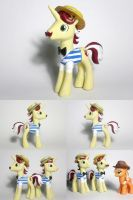 Flam Flim and Flam G4 Custom Pony by Oak23