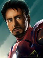 Tony Stark by SweetChiel
