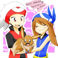 Happy Birthday Amibunny by yassui