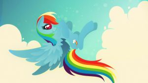 Rainbow Dash - Take me to the Sky by Rariedash