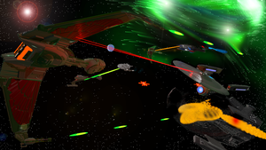 Federation vs Klingon Empire by Marksman104