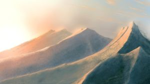Chalk Mountains by bloknayrb