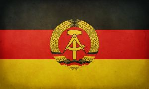 East German Grunge Flag by ConradChaos