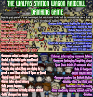WSW Raidcall Drinking Game (UPDATED) by MikiBandy