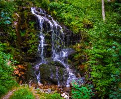 Bleakburrow Falls by Aenea-Jones