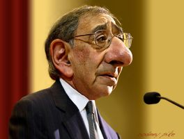 Leon Panetta - A Caricature Study by RodneyPike