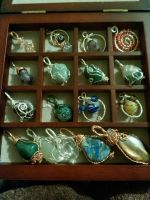 full box of pendants by Wolf-Lady-bsparks85