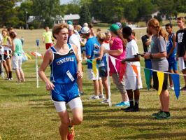 Rushville Cross Country Invitational 3 by sakaphotogrfx