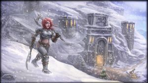 At the gates of Ironforge by vempirick