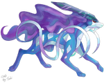 Suicune - Colo Only by Trunksi